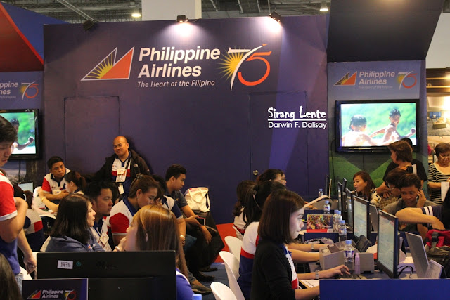 Booth of Philippine Airlines