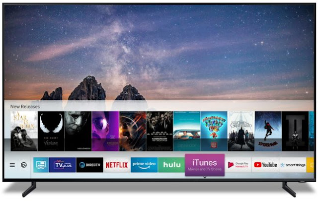 Samsung con soporte a AIRPLAY ITUNES