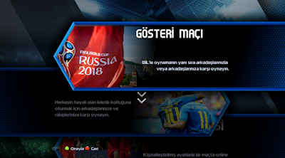 PES 2013 World Cup 2018 Graphic & Menu Patch By AbdDlsz