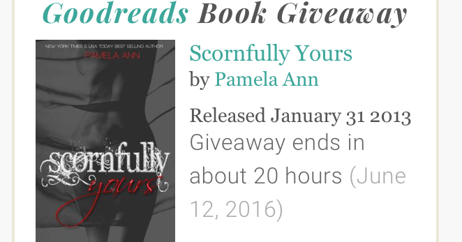 i sexy reads goodreads book giveaway