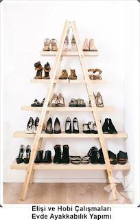 Dekorasyon - Ayakkabılık Modelleri 7
