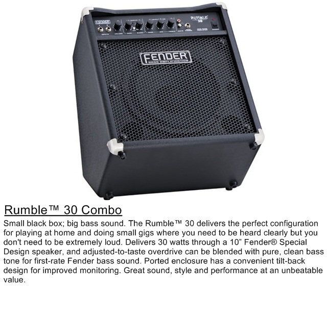 fender rumble 30 combo lee 39 s music centre. Black Bedroom Furniture Sets. Home Design Ideas