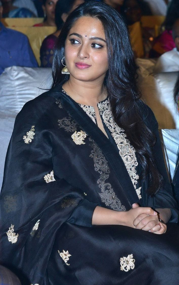 Anushka Shetty At Om Namo Venkatesaya Movie Audio Launch