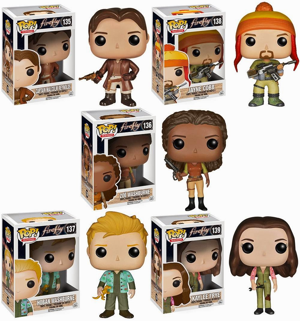 The Blot Says Firefly Pop Vinyl Figures By Funko