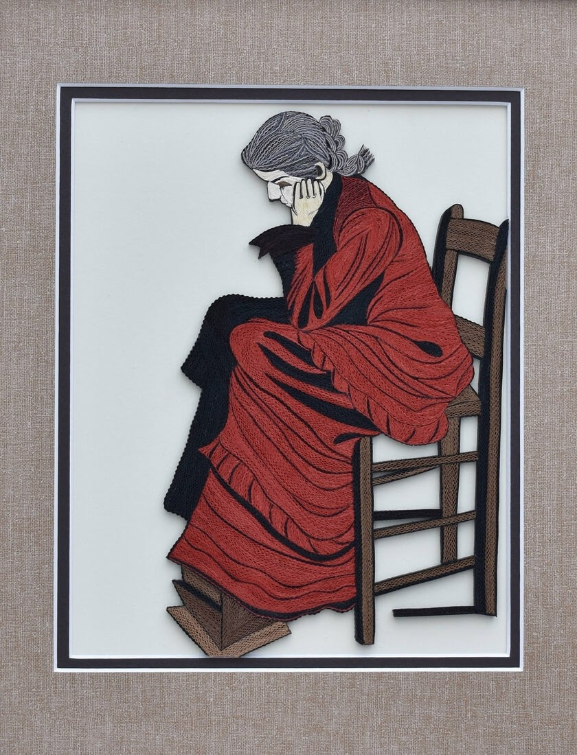16-Woman-Seated-Tatiana-People-and-Animal-Portraits-plus-Flower-Quilling-www-designstack-co