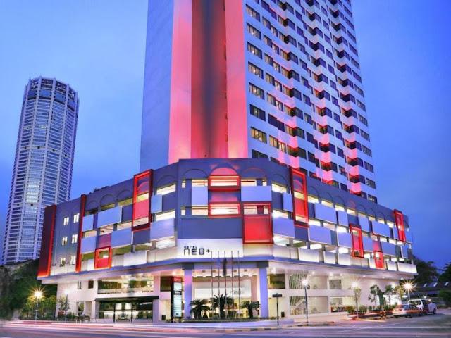 Hotel bajet menarik di Pulau Pinang