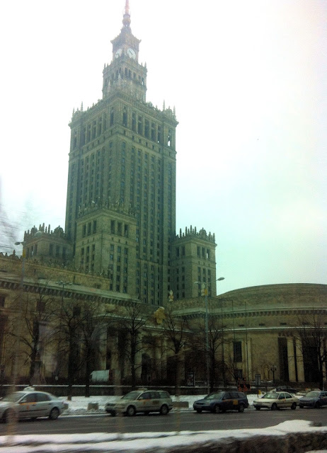 The Warsaw Palace of Culture and Science was originally called the Stalin Palace and remains the city's tallest landmark today.
