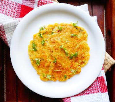 Oats chilla, Oats besan chilla, Indian, breakfast