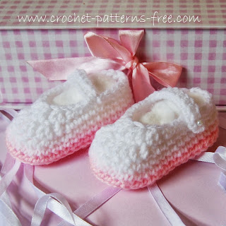 Baby Bootie Shoes Crochet Patterns Free Crochet Patterns for Baby Booties {3-6months}