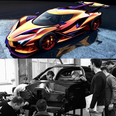 Apollo Intensa Emozione ML TURNED to Chameleon ML Dragon