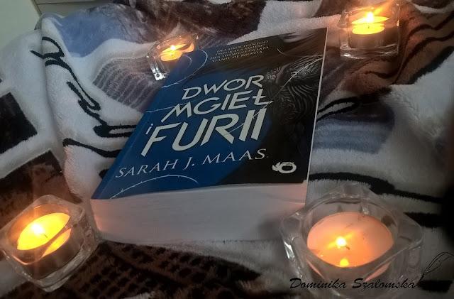 """#136 [PRZEDPREMIEROWO] Recenzja książki """"Dwór mgieł i furii"""" Sarah J. Maas"""