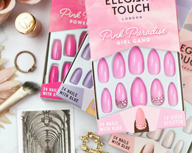 Elegant Touch London False Nails Review, Lovelaughslipstick Blog