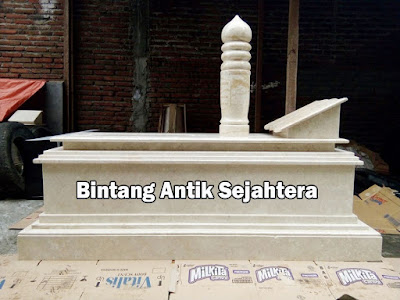 Makam Model Uje Marmer Modifikasi