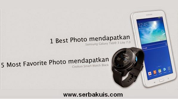 Kontes Foto #KorbanBola Berhadiah SAMSUNG GAlaxy Tab 3 Lite 7.0