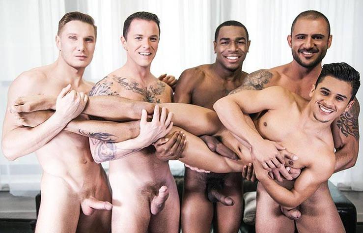 bareback orgie videoer
