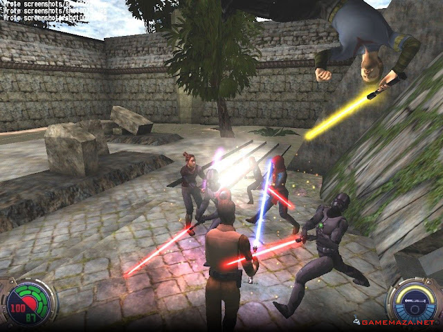 Star Wars Jedi Knight II Jedi Outcast Gameplay Screenshot 2