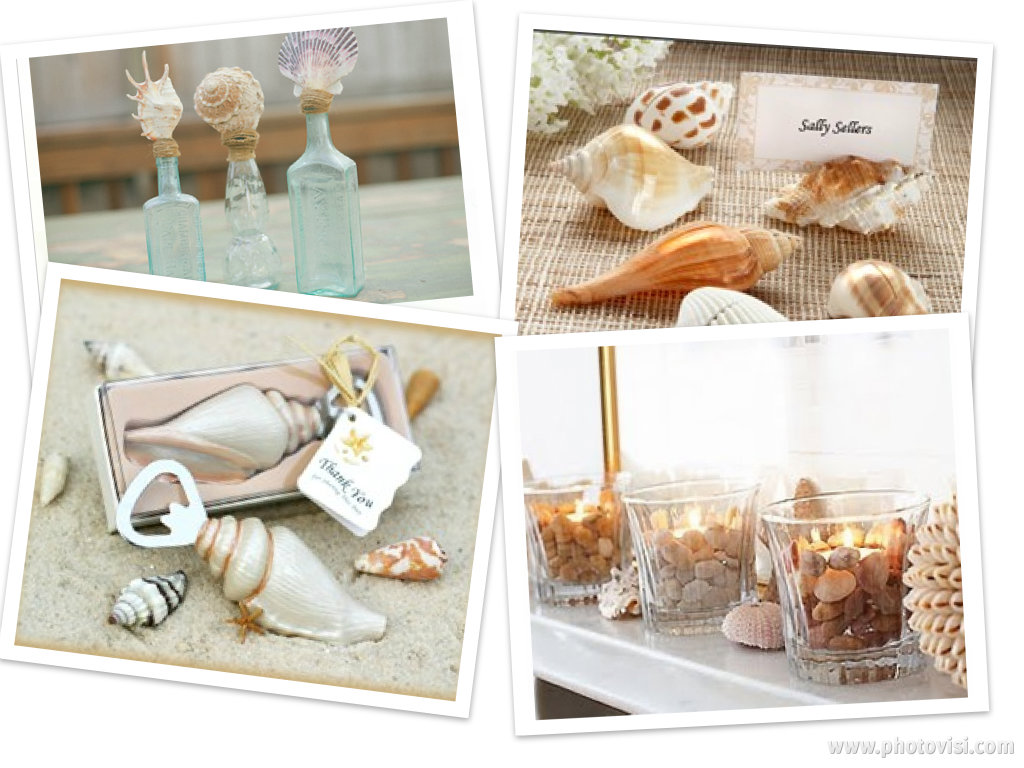 Home Wedding Decoration Ideas: Weddings Are Fun Blog: Shell Themed Wedding Reception