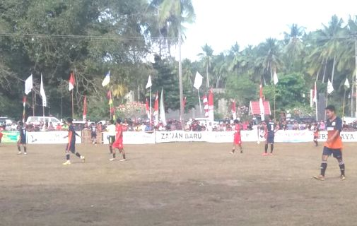 Final Barugaia Cup 2017 Berujung, Adu Penalti