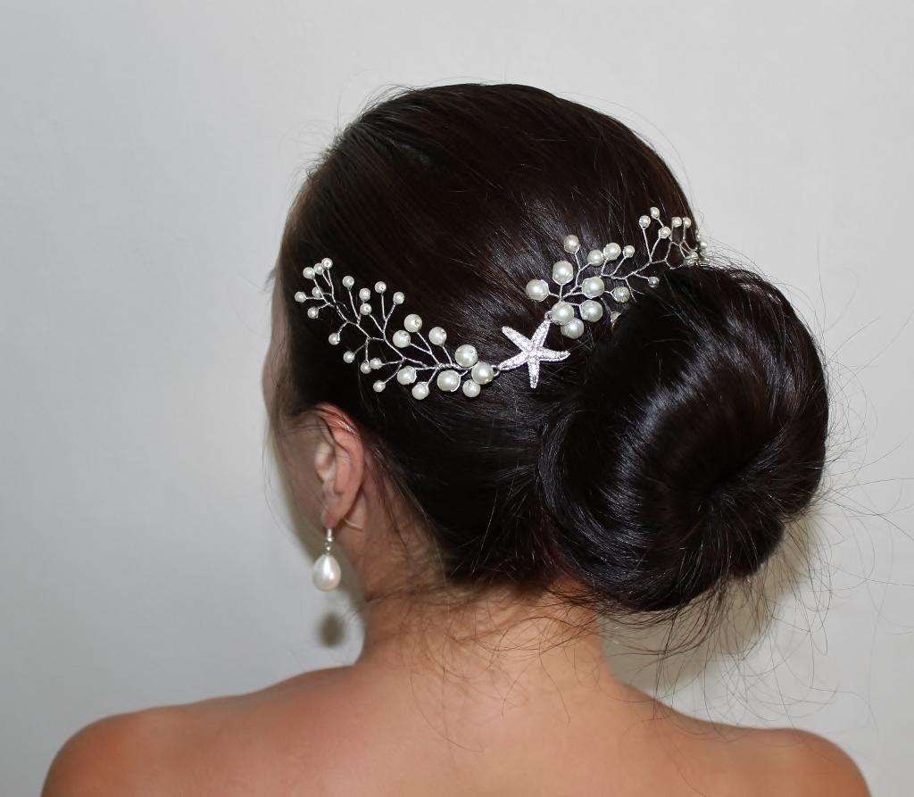 helena's crown. handcrafted wedding tiaras, fascinators, birdcage