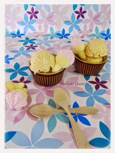 helado de mascarpone
