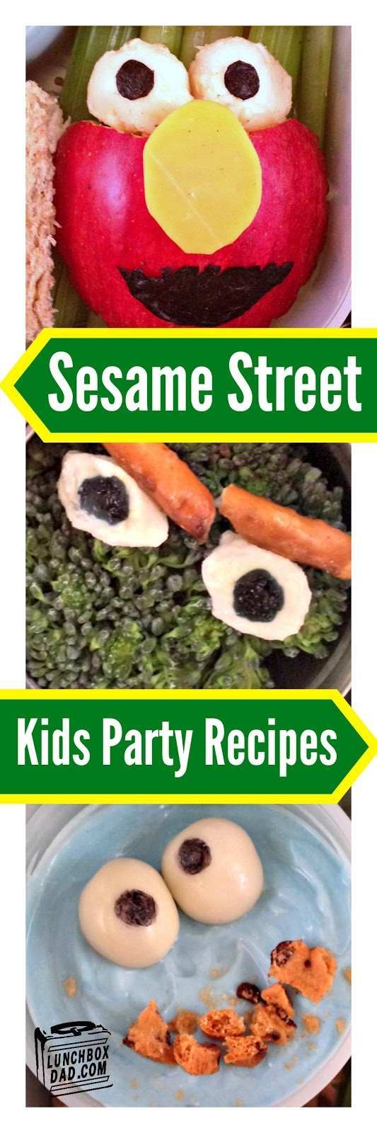 Sesame Street Kids Party Ideas with Elmo, Oscar The Grouch, and Cookie Monster