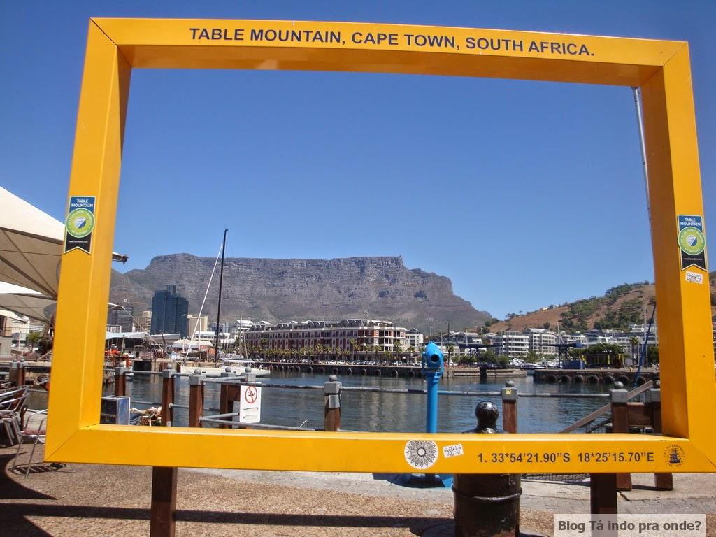 Melhor lugar para tirar foto da Table Mountain