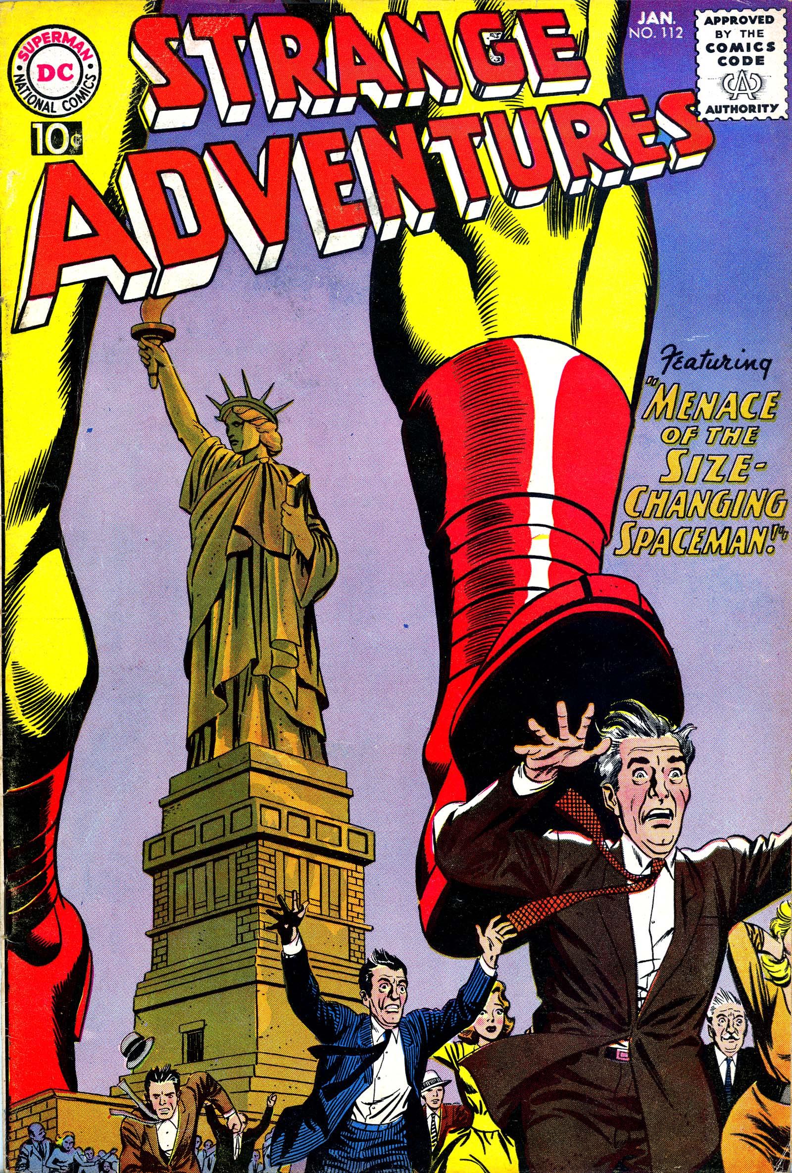 Strange Adventures (1950) issue 112 - Page 1
