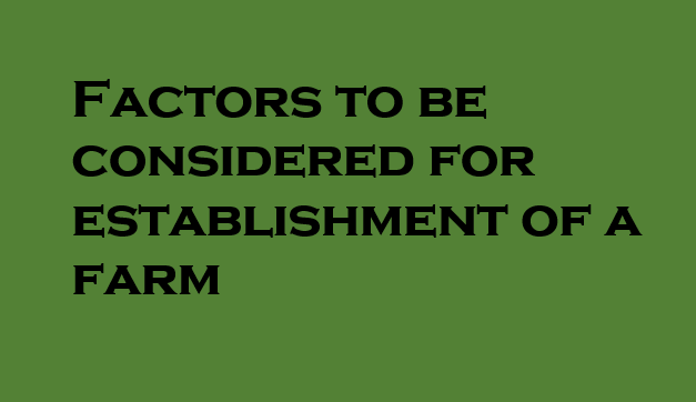 factors to be considered in establishment Factors to include qualitative criteria (harps, 2000) many authors agree that the following factors makes the supplier selection decision making process complicated (vera and pullman, 1998.
