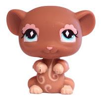 Littlest Pet Shop Gift Set Mouse (#580) Pet