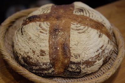鳥取の自家製天然酵母のパン屋タルマーリー 全粒粉酵母の田舎パン