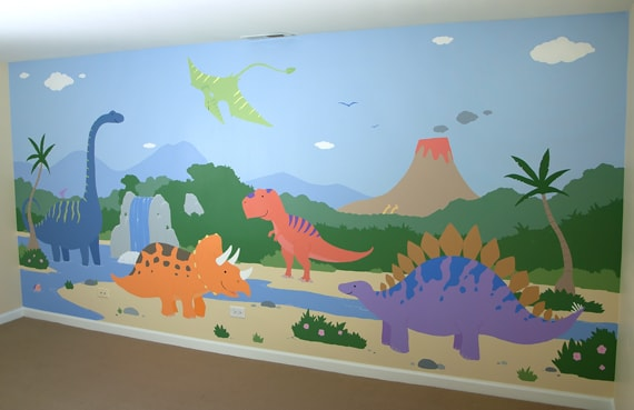 lukis dinding mural