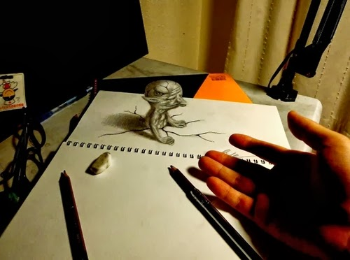 11-NAGAI-HIDEYUKI-Hide-永井-秀幸-3D-Pencil-Drawings-www-designstack-co