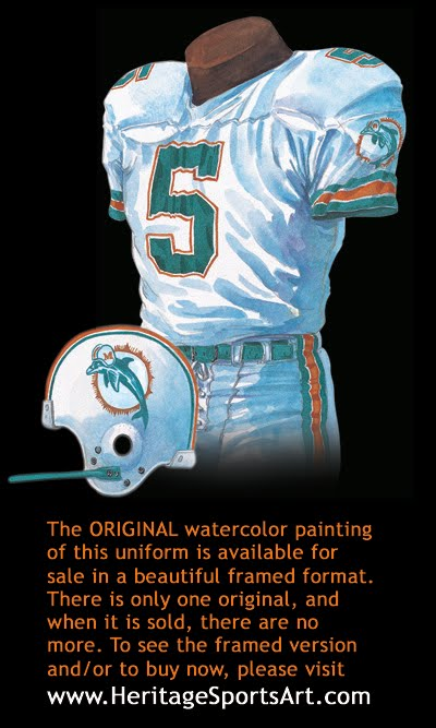 online store 5b199 ee1f3 Miami Dolphins Uniform and Team History | Heritage Uniforms ...
