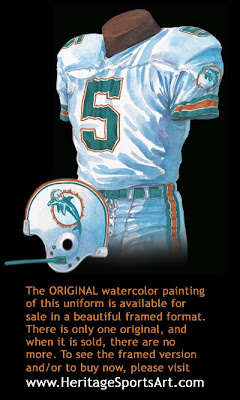 Miami Dolphins 1988 uniform