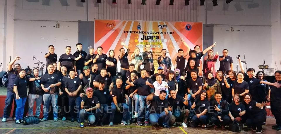 Foto Keluarga Jawatankuasa Penganjur dan Program Pertandingan Juara Lagu Carta Lagu Dusun SABAHVFM Musim ke-6