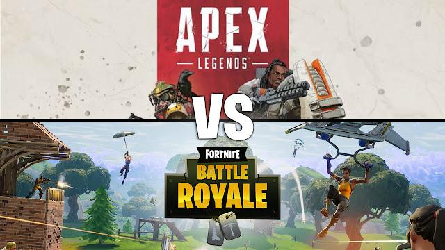 Fortnite vs. Apex Legends: ¿Cual consideras que es mejor?