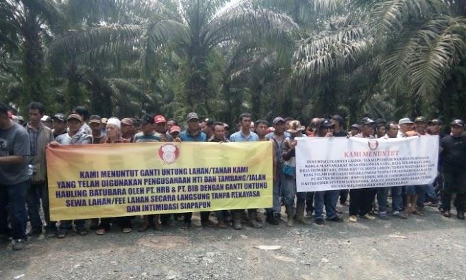 Aksi Demo Pertambangan PT. HRB dan DIB Tertahan, Pihak Manajemen Akan Berikan Solusi