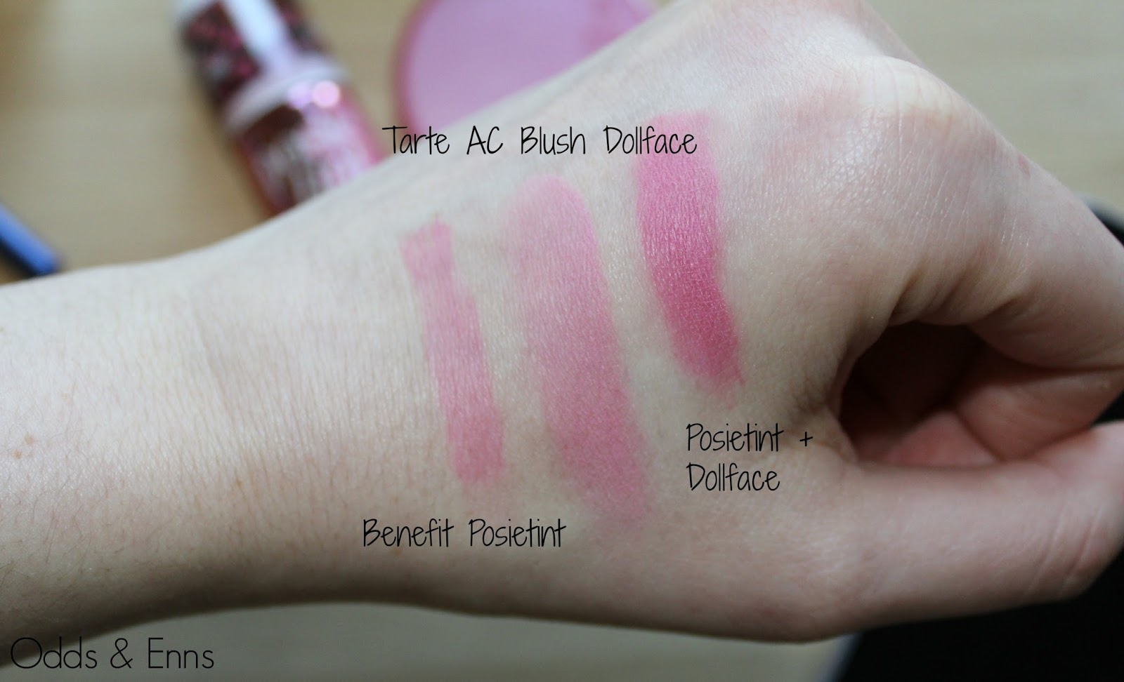 Benefit Posietint Review and Tarte Amazonian Clay Blush in Dollface Review