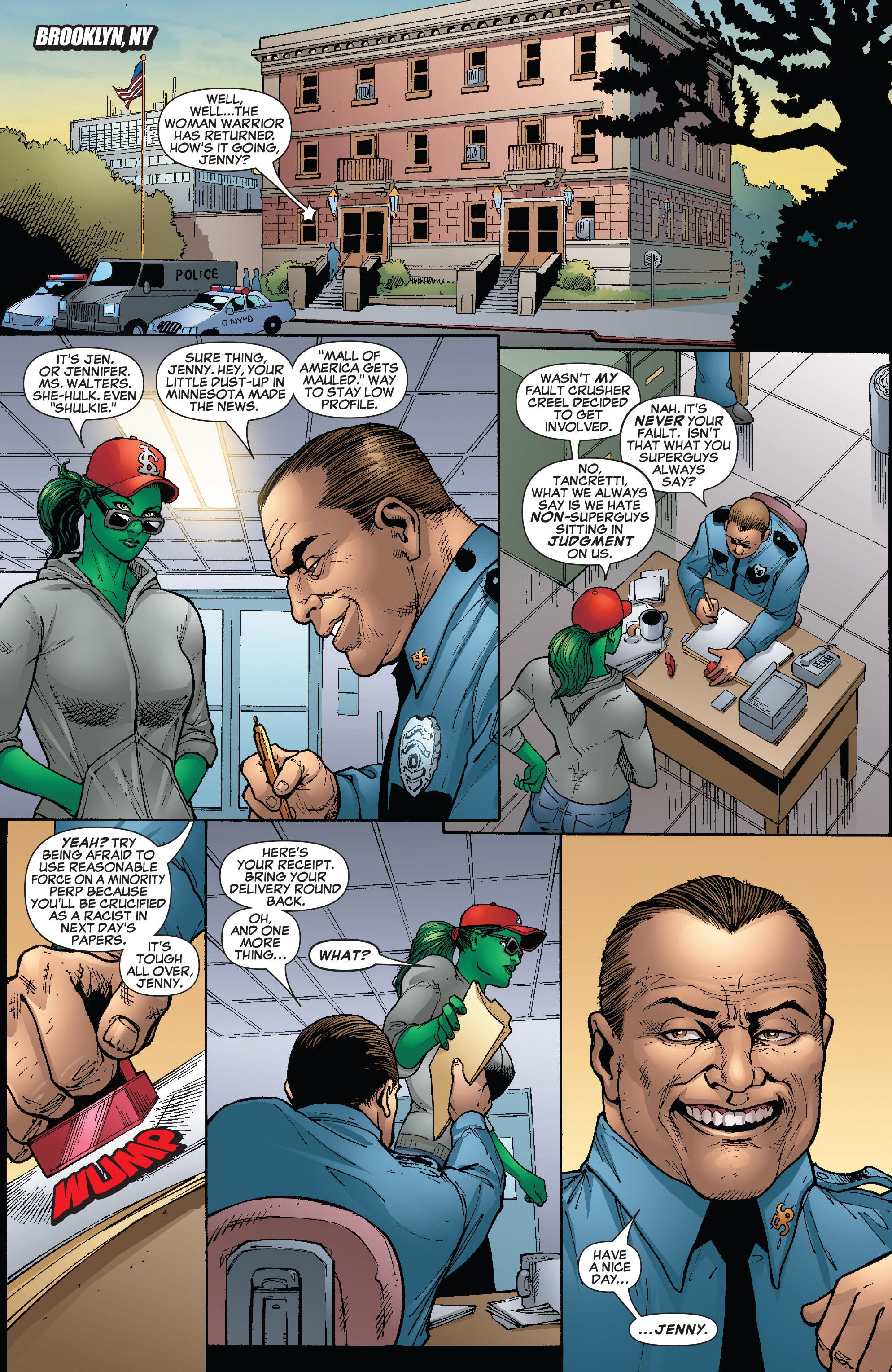 Read online She-Hulk (2005) comic -  Issue #24 - 3