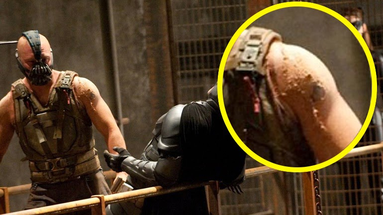 What Happened To Tom Hardy S Tattoos In The Dark Knight Rises Movies The Geek Twins