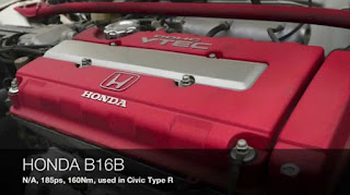 Honda B16B DOHC Vtec Engine In Civic Type R