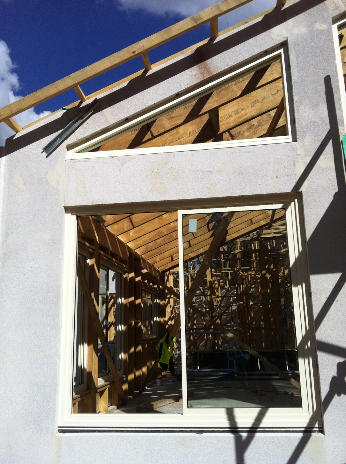 Hebel, Gutters and Roofing | Jack & Kuva's New House