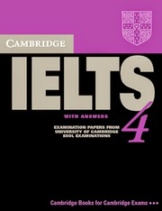 Download Cambridge IELTS 4 With PDF And Audio