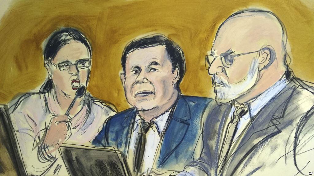 El narco mexicano fue condenado por 10 cargos criminales y su sentencia será leída en junio / AP