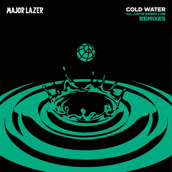 Major Lazer - Cold Water (feat. Justin Bieber & MØ) [Remixes] - EP Cover
