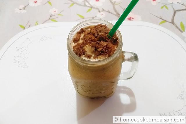 mango-graham shake, dessert recipes, dessert, snack,