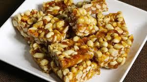 peanut chikki with jaggery recipe in urdu