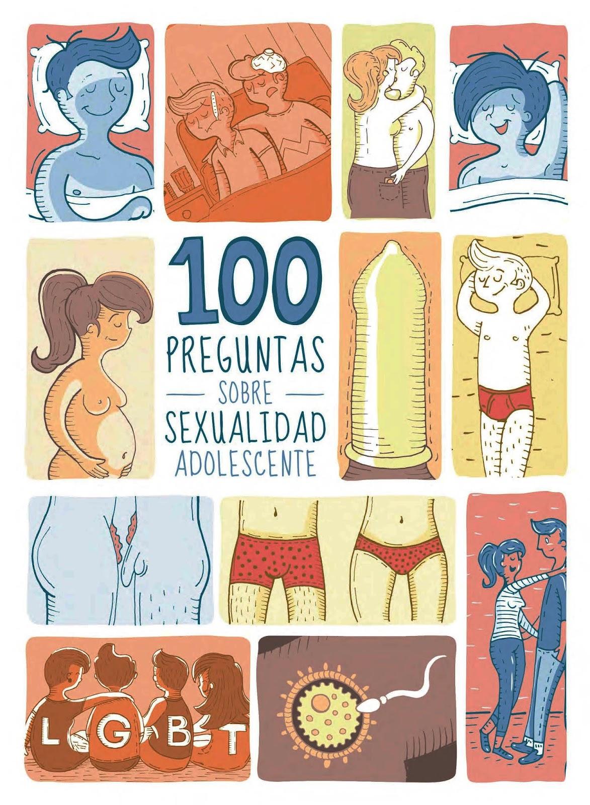 100 Preguntas Sobre Sexualidad Adolescente. Libro Para Descarga Gratuita, En Pdf
