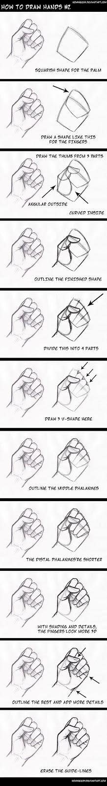 Cara Menggambar Tangan