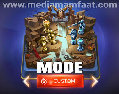 Keuntungan bermain mode custom mobile legends